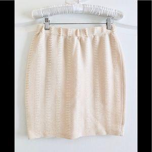 St. John collection knit mini skirt 2